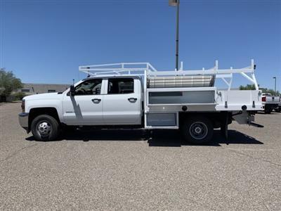 2019 Silverado 3500 Crew Cab DRW 4x2,  Harbor Standard Contractor Body #KF213473 - photo 5