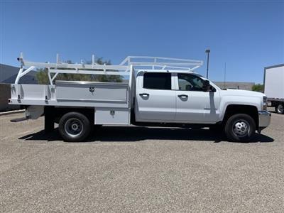 2019 Silverado 3500 Crew Cab DRW 4x2,  Harbor Standard Contractor Body #KF213473 - photo 6
