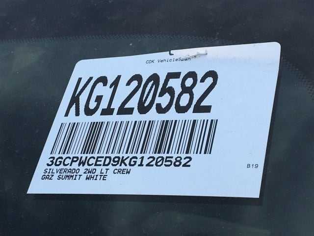 2019 Silverado 1500 Crew Cab 4x2,  Pickup #KG120582 - photo 20