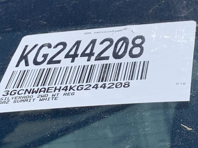 2019 Silverado 1500 Regular Cab 4x2,  Pickup #KG244208 - photo 22