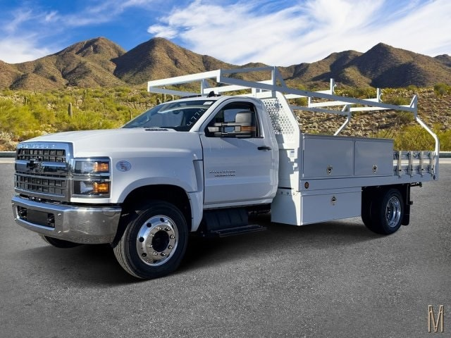 2019 Silverado 5500 Regular Cab DRW 4x2, Royal Contractor Body #KH293810 - photo 1