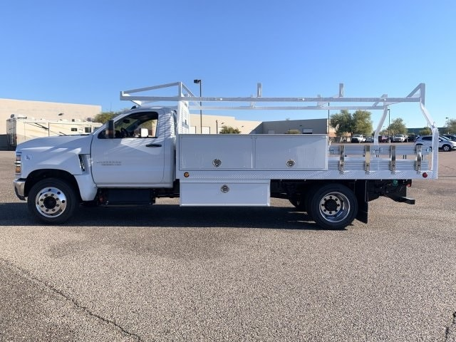 2019 Silverado 5500 Regular Cab DRW 4x2, Royal Contractor Body #KH293810 - photo 7