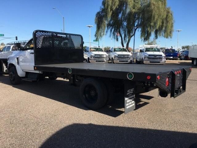 2019 Silverado 5500 Regular Cab DRW 4x2, Scelzi Platform Body #KH306764 - photo 1