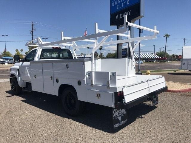 2019 Silverado Medium Duty Regular Cab DRW 4x2,  Harbor Combo Body #KH376453 - photo 1