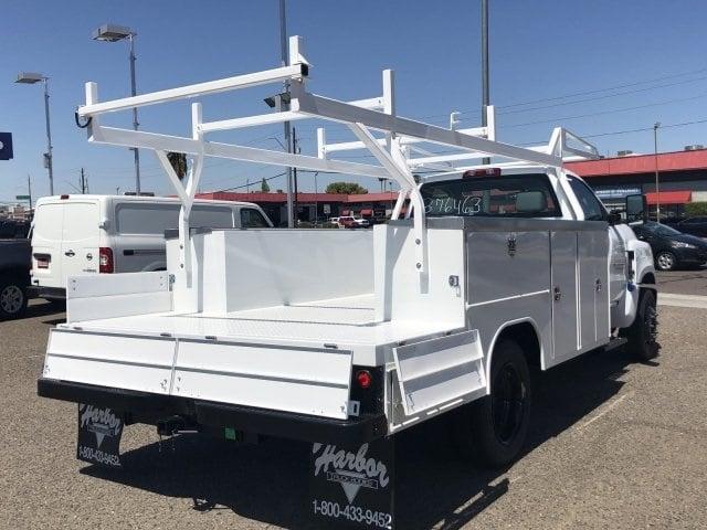 2019 Silverado Medium Duty Regular Cab DRW 4x2,  Harbor ComboMaster Combo Body #KH376453 - photo 6