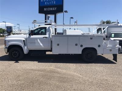 2019 Silverado Medium Duty Regular Cab DRW 4x2,  Harbor ComboMaster Combo Body #KH376453 - photo 3