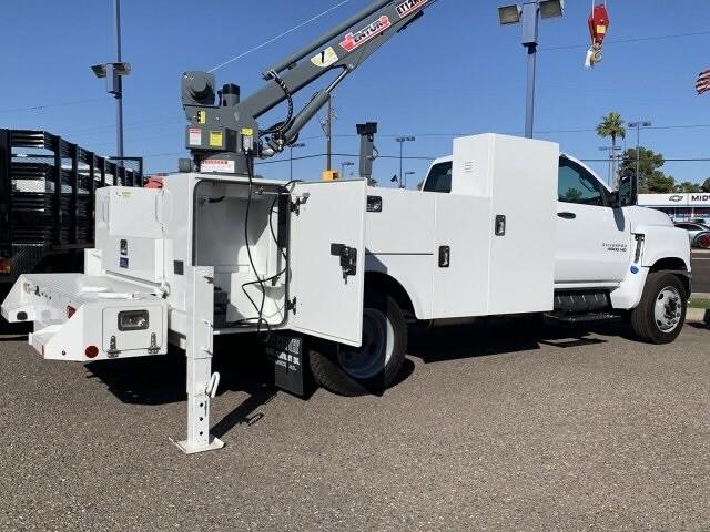 2019 Silverado 4500 Regular Cab DRW 4x2, Stahl Mechanics Body #KH415267 - photo 1