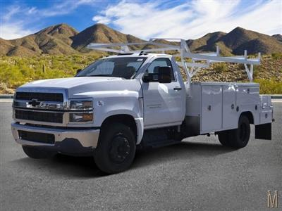 2019 Silverado 4500 Regular Cab DRW 4x2, Harbor ComboMaster Combo Body #KH862832 - photo 1