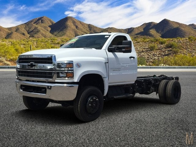 2019 Silverado Medium Duty Regular Cab DRW 4x4,  Cab Chassis #KH863655 - photo 1