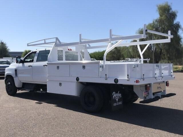 2019 Silverado Medium Duty Crew Cab DRW 4x2,  Harbor Contractor Body #KH885229 - photo 1