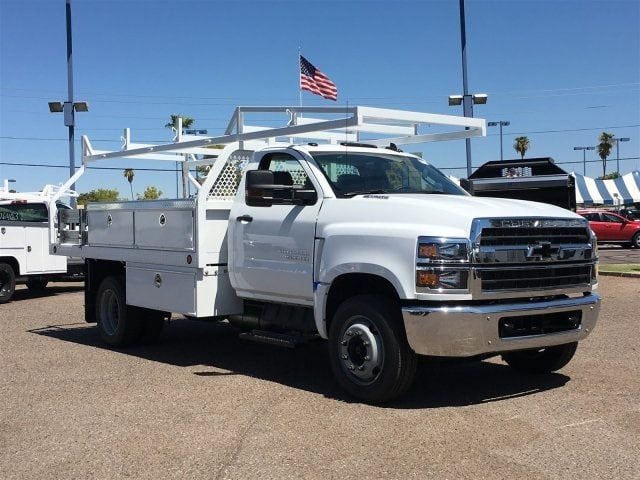 2019 Silverado Medium Duty DRW 4x2,  Royal Contractor Body #KH886109 - photo 1