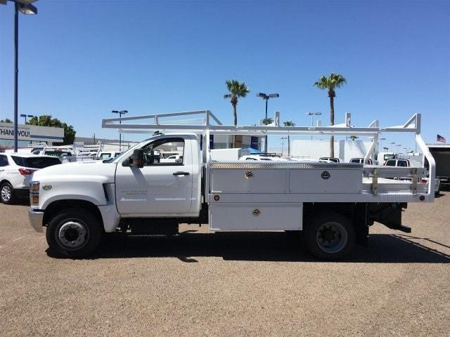 2019 Silverado Medium Duty Regular Cab DRW 4x2,  Royal Contractor Body #KH886109 - photo 4
