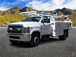 2019 Silverado Medium Duty Regular Cab DRW 4x2,  Royal Contractor Body #KH886109 - photo 1