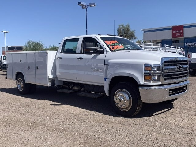 2019 Chevrolet Silverado 5500 Crew Cab DRW RWD, Royal Service Body #KH886113 - photo 1