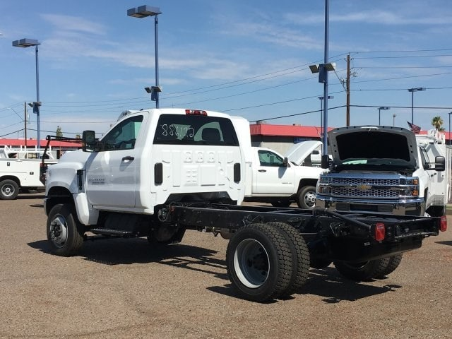 2019 Silverado Medium Duty Regular Cab DRW 4x4,  Cab Chassis #KH886122 - photo 1