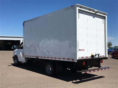 2019 Express 4500 4x2,  Morgan Parcel Aluminum Cutaway Van #KN007209 - photo 2