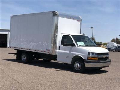 2019 Express 4500 4x2,  Morgan Parcel Aluminum Cutaway Van #KN007278 - photo 3