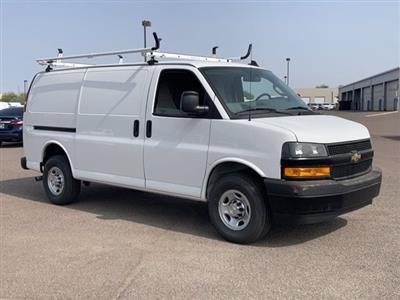 2020 Chevrolet Express 2500 RWD, Masterack Steel General Service Upfitted Cargo Van #L1239809 - photo 3