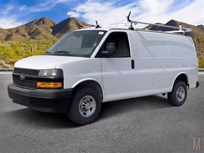 2020 Chevrolet Express 2500 RWD, Masterack Steel General Service Upfitted Cargo Van #L1239809 - photo 1