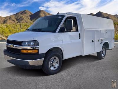 2020 Chevrolet Express 3500 4x2, Knapheide KUV Service Utility Van #L1251441 - photo 1