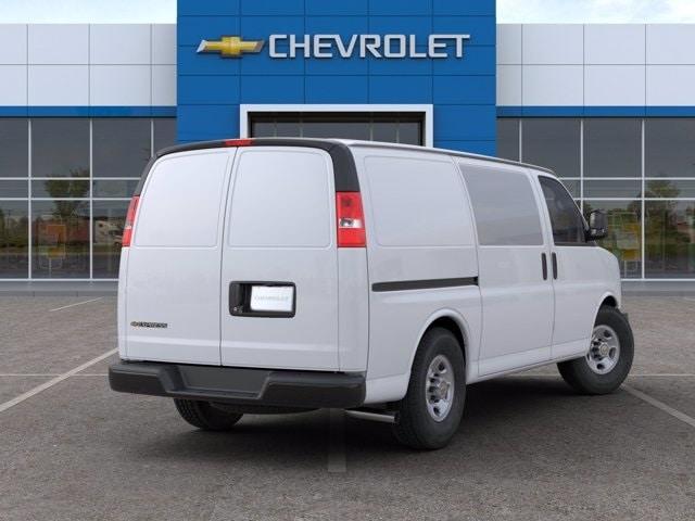 2020 Chevrolet Express 2500 4x2, Commercial Van Interiors Upfitted Cargo Van #L1273173 - photo 2