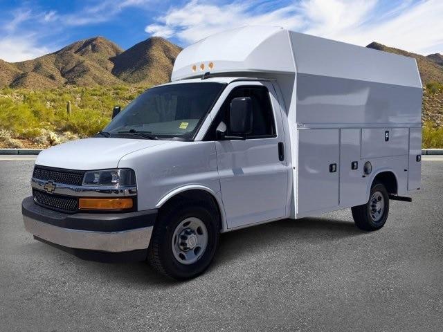 2017 Chevrolet Express 3500, Knapheide Service Utility Van #LF240968C - photo 1