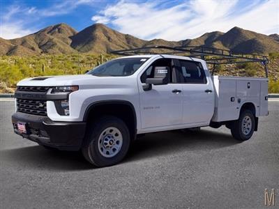 2020 Chevrolet Silverado 3500 Crew Cab 4x4, Knapheide Service Body #LF265561 - photo 1