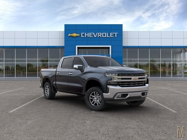 2020 Silverado 1500 Crew Cab 4x4, Pickup #LG192221 - photo 3