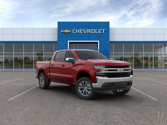 2020 Silverado 1500 Crew Cab 4x2, Pickup #LG229739 - photo 3