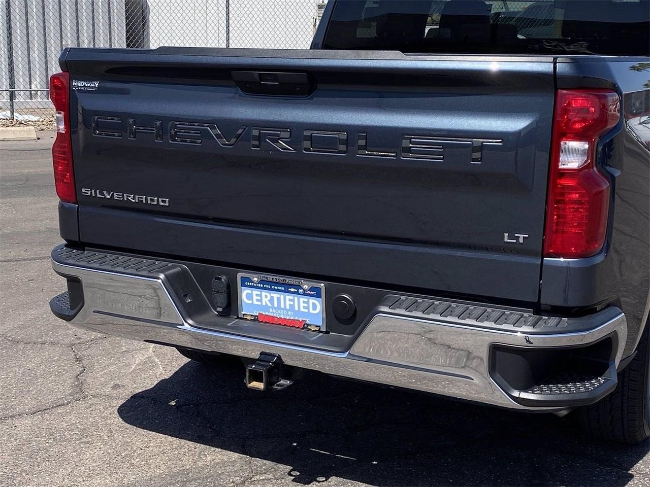 2020 Chevrolet Silverado 1500 Crew Cab 4x2, Pickup #LG343948 - photo 7