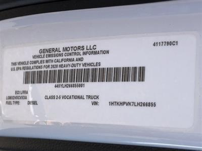 2020 Silverado 5500 Regular Cab DRW 4x2, Cab Chassis #LH266855 - photo 20