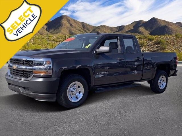 2016 Chevrolet Silverado 1500 Double Cab RWD, Pickup #LJ252041A - photo 1