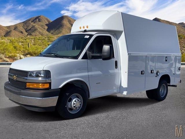 2020 Chevrolet Express 3500 4x2, Knapheide Service Utility Van #LN002248 - photo 1