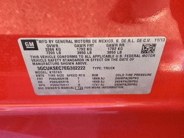2014 Silverado 1500 Crew Cab 4x4, Pickup #LS555351A - photo 23