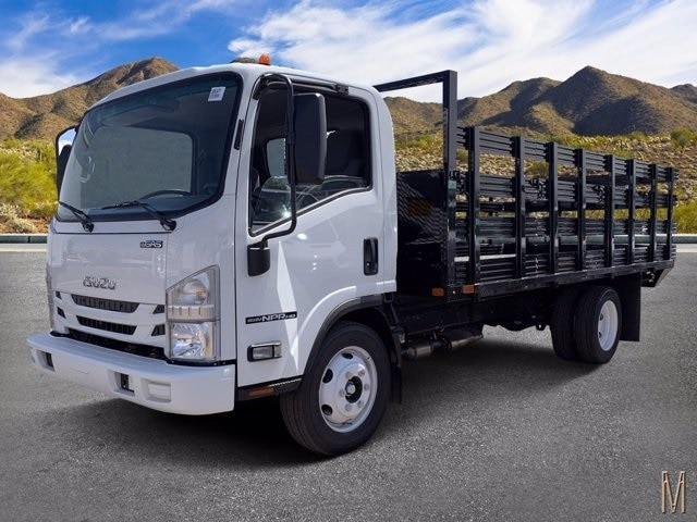 2020 Isuzu NPR-HD Regular Cab 4x2, United Truck Bodies Stake Bed #LS803477 - photo 1
