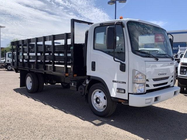 2020 Isuzu NPR-HD Regular Cab 4x2, United Truck Bodies Stake Bed #LS803477 - photo 3