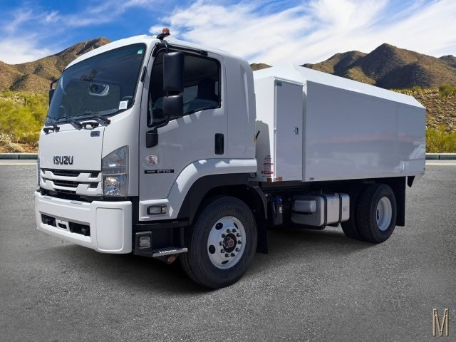 2020 Isuzu FTR Regular Cab 4x2, Drake Equipment Chipper Body #LSG50486 - photo 1