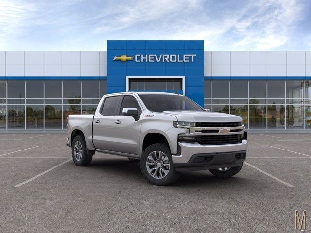 2020 Chevrolet Silverado 1500 Crew Cab 4x4, Pickup #LZ308541 - photo 3