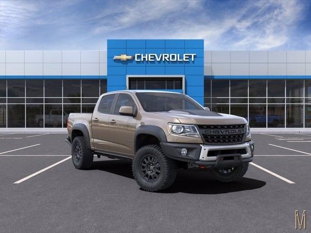 2021 Chevrolet Colorado Crew Cab 4x4, Pickup #M1153631 - photo 1