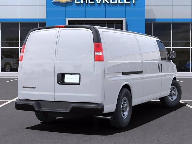 2021 Chevrolet Express 3500 4x2, Adrian Steel Upfitted Cargo Van #M1172328 - photo 1