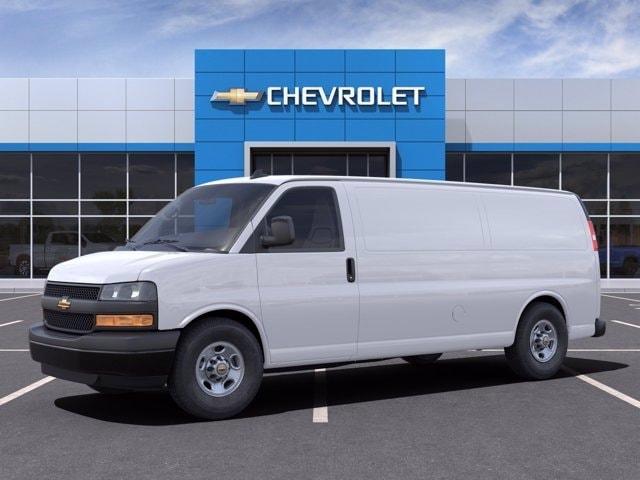 2021 Chevrolet Express 3500 4x2, Empty Cargo Van #M1172328 - photo 3