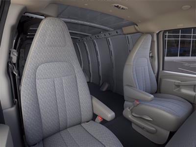 2021 Chevrolet Express 3500 4x2, Empty Cargo Van #M1172328 - photo 13