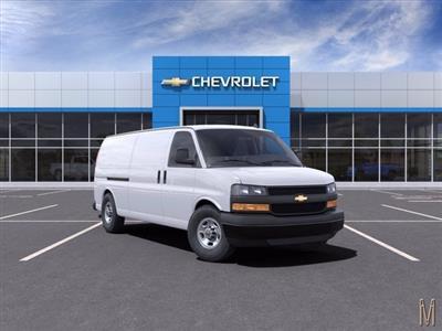2021 Chevrolet Express 3500 4x2, Empty Cargo Van #M1172328 - photo 1