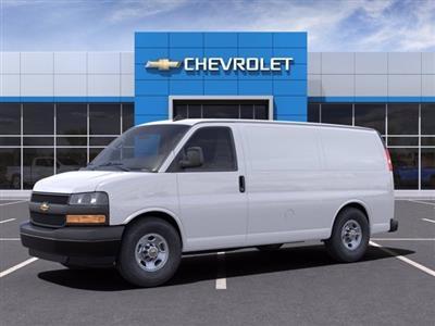 2021 Chevrolet Express 2500 4x2, Empty Cargo Van #M1178100 - photo 3