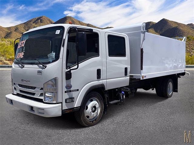 2021 Isuzu NQR Crew Cab 4x2, Sun Country Truck Landscape Dump #M7901192 - photo 1