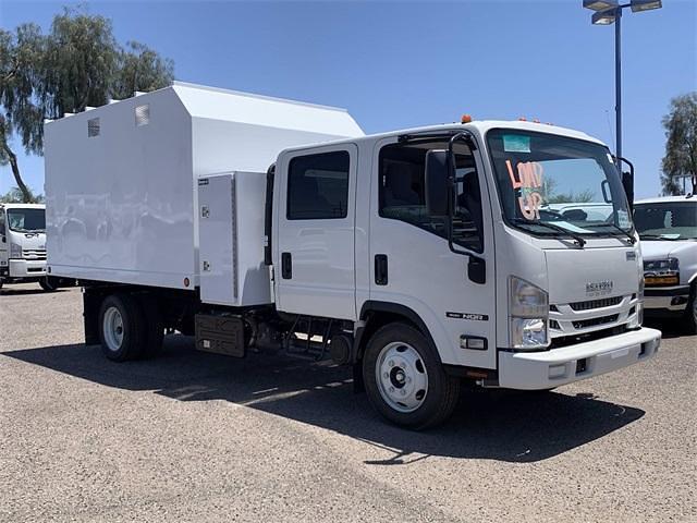 2021 Isuzu NQR Crew Cab 4x2, Sun Country Truck Chipper Body #M7901193 - photo 4