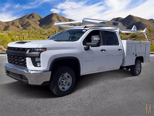 2021 Chevrolet Silverado 2500 Crew Cab 4x2, Scelzi Service Body #MF174352 - photo 1