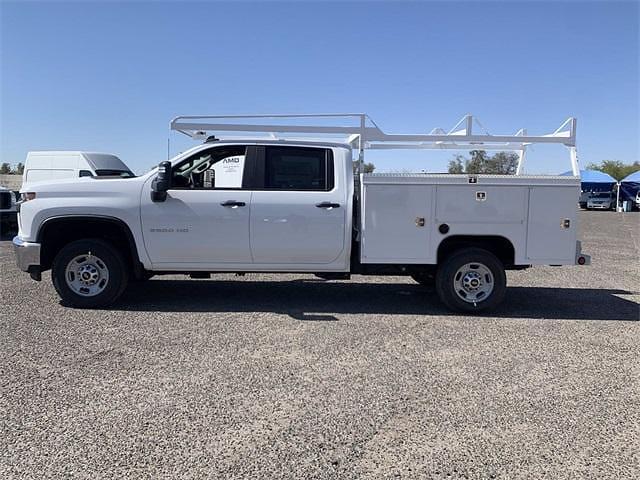 2021 Chevrolet Silverado 2500 Crew Cab 4x2, Scelzi Contour Service Body #MF174352 - photo 7