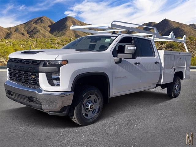 2021 Chevrolet Silverado 2500 Crew Cab 4x2, Scelzi Service Body #MF175862 - photo 1