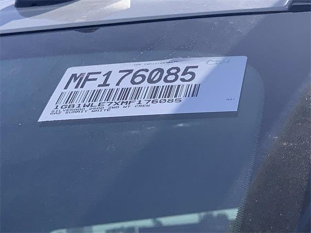 2021 Chevrolet Silverado 2500 Crew Cab 4x2, Scelzi Signature Service Body #MF176085 - photo 29